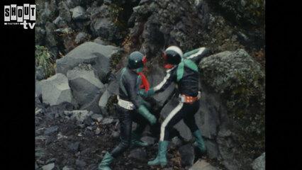 Kamen Rider: S1 E41 - Magma Monster Ghoster, Decisive Battle At Sakurajima