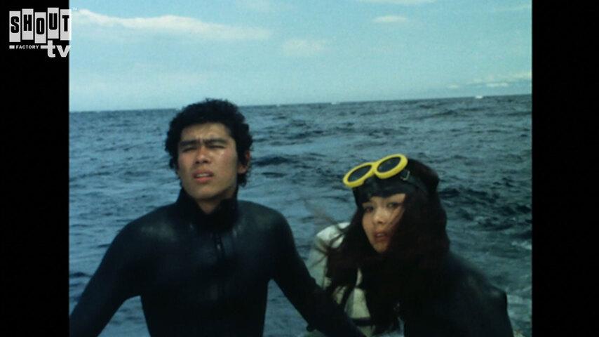 Kamen Rider: S1 E22 - Suspicious Merman Amazonia