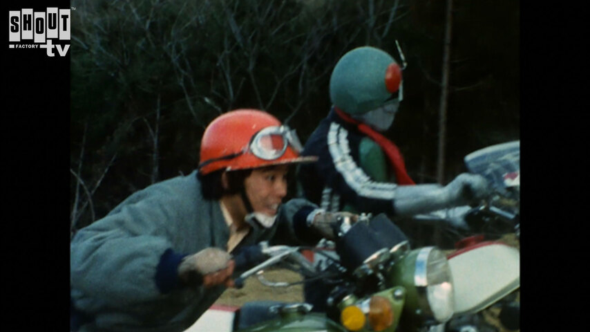 Kamen Rider: S1 E53 - Monster Jaguarman's Ready-To-Die Motorbike War