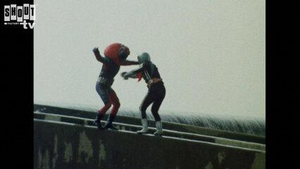 Kamen Rider: S1 E70 - Monster Electric-Guitarbotal's Fireball Attack