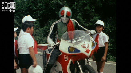 Kamen Rider: S1 E74 - Deadly Bloodsucking Fiends!! Good Luck, Rider Boys' Squad