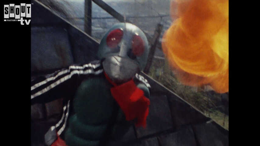 Kamen Rider: S1 E88 - Bizarre! The Picture Of The Black Cat That Calls For Blood
