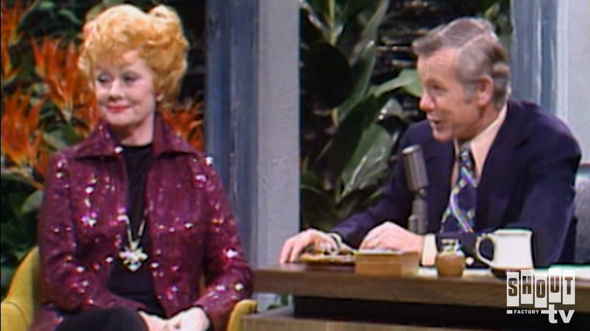 The Johnny Carson Show: Comic Legends Of The '50s - Lucille Ball (3/22/74)