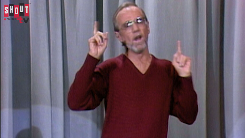 The Johnny Carson Show: Comic Legends Of The '70s - George Carlin (8/21/85)