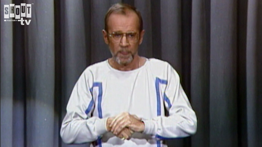 The Johnny Carson Show: Comic Legends Of The '70s - George Carlin (11/29/84)