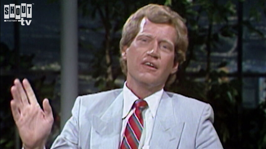 The Johnny Carson Show: Comic Legends Of The '80s - David Letterman (7/13/84)
