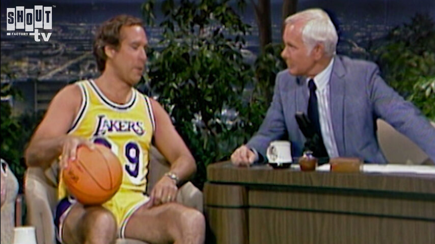 The Johnny Carson Show: Comic Legends Of The '80s - Chevy Chase (5/30/85)