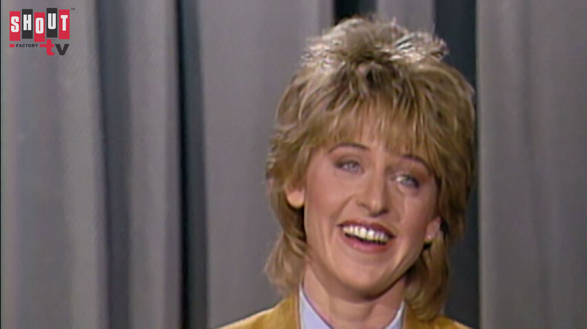 The Johnny Carson Show: Comic Legends Of The '80s - Ellen DeGeneres (5/21/87)