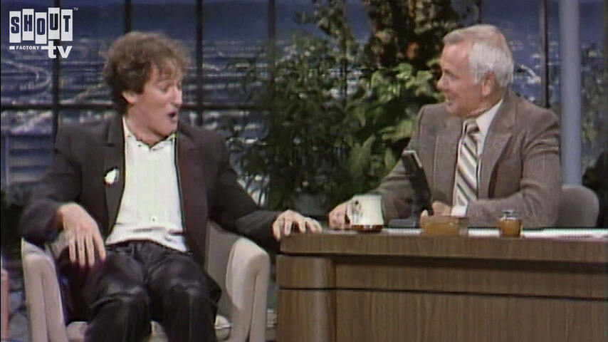 The Johnny Carson Show: Comic Legends Of The '90s - Robin Williams (10/14/81)