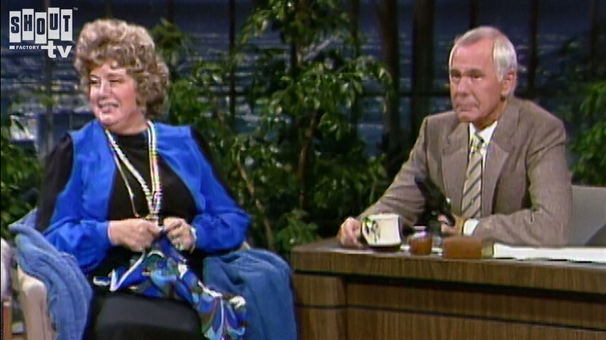 The Johnny Carson Show: Hollywood Icons Of The '50s - Shelley Winters (6/20/84)