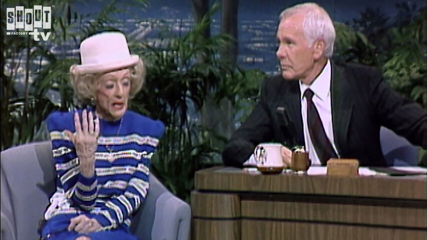 The Johnny Carson Show: Hollywood Icons Of The '50s - Bette Davis (1/7/88)