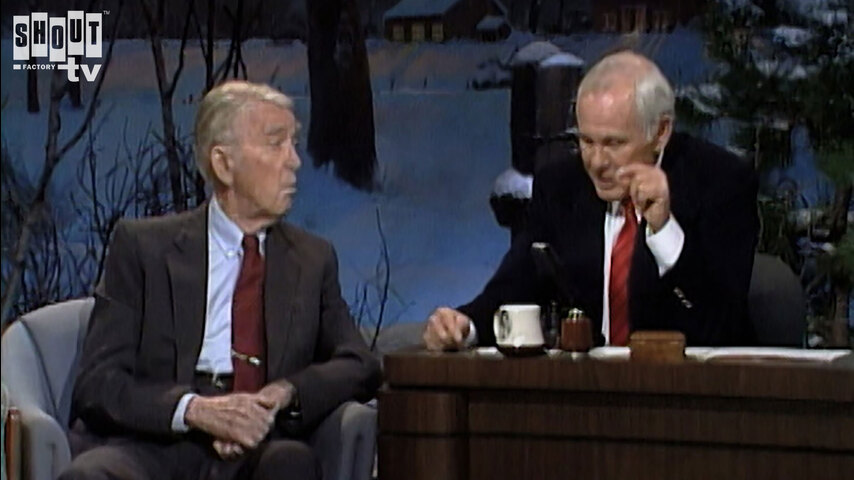 The Johnny Carson Show: Hollywood Icons Of The '50s - Jimmy Stewart (12/27/89)