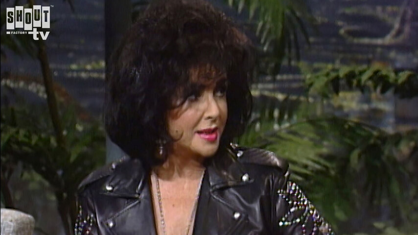The Johnny Carson Show: Hollywood Icons Of The '50s - Elizabeth Taylor (2/21/92)
