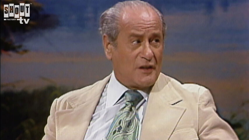 The Johnny Carson Show: Hollywood Icons Of The '60s - Eli Wallach (9/1/77)