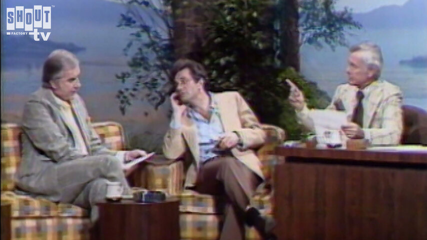 The Johnny Carson Show: Hollywood Icons Of The '70s - Peter Falk (5/20/77)