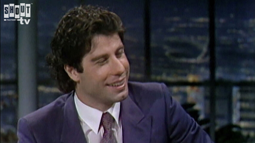 The Johnny Carson Show: Hollywood Icons Of The '70s - John Travolta (8/6/81)