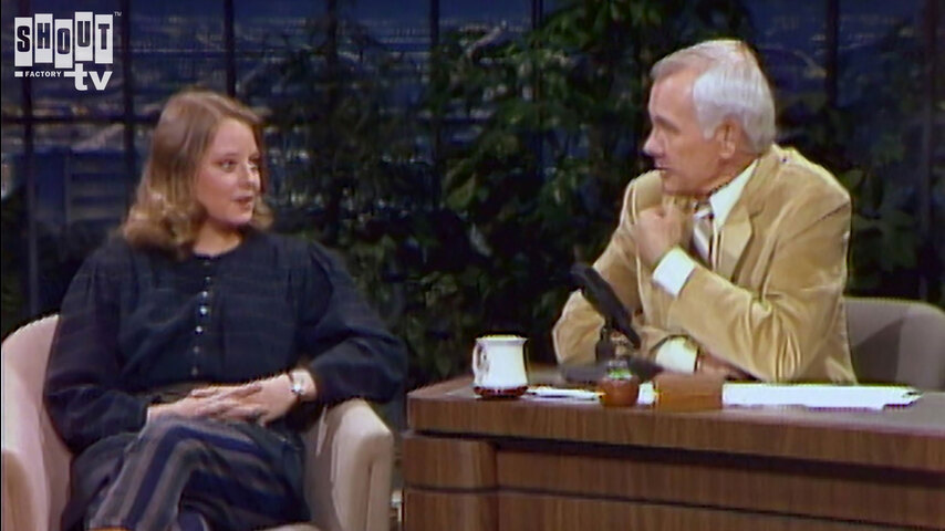 The Johnny Carson Show: Hollywood Icons Of The '70s - Jodie Foster (3/4/83)