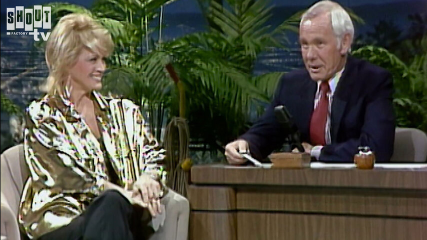 The Johnny Carson Show: Hollywood Icons Of The '70s - Angie Dickinson (1/2/86)