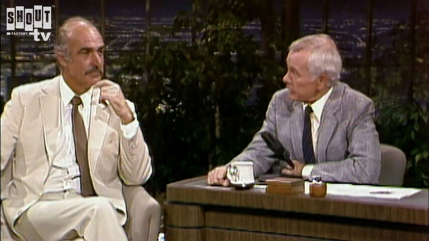 The Johnny Carson Show: Hollywood Icons Of The '60s - Sean Connery (10/5/83)