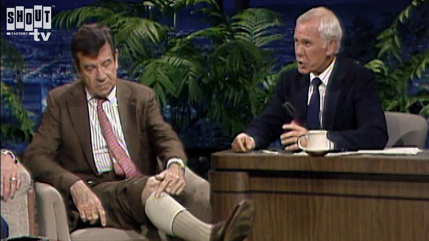 The Johnny Carson Show: Hollywood Icons Of The '60s - Walter Matthau (7/22/86)
