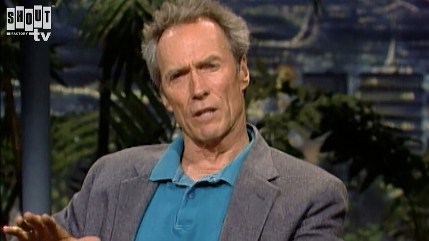 The Johnny Carson Show: Hollywood Icons Of The '60s - Clint Eastwood (5/15/92)