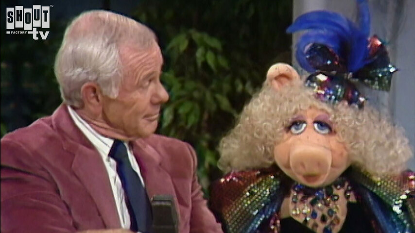 The Johnny Carson Show: Hollywood Icons Of The '70s - Miss Piggy (7/12/84)