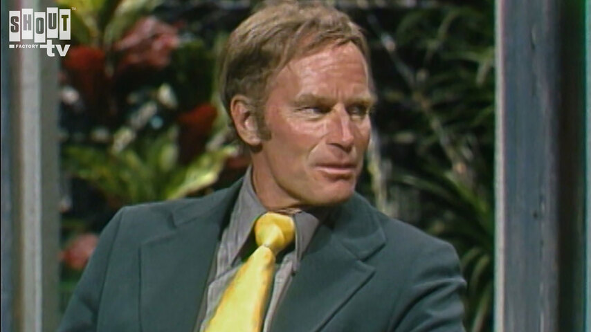 The Johnny Carson Show: Hollywood Icons Of The '50s - Charlton Heston (5/22/74)