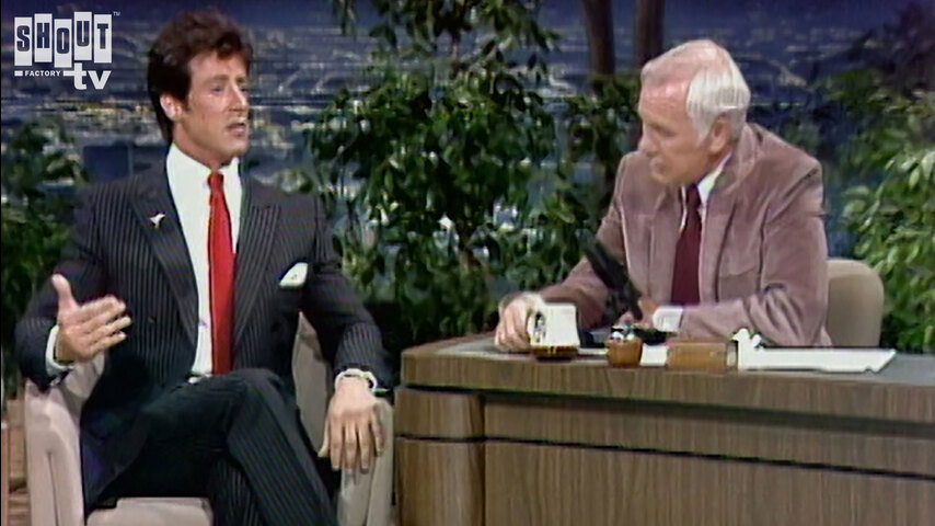 The Johnny Carson Show: Hollywood Icons Of The '70s - Sylvester Stallone (5/21/85)