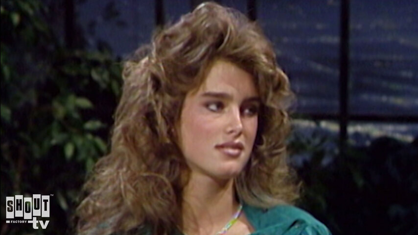 The Johnny Carson Show: Hollywood Icons Of The '80s - Brooke Shields (5/17/83)