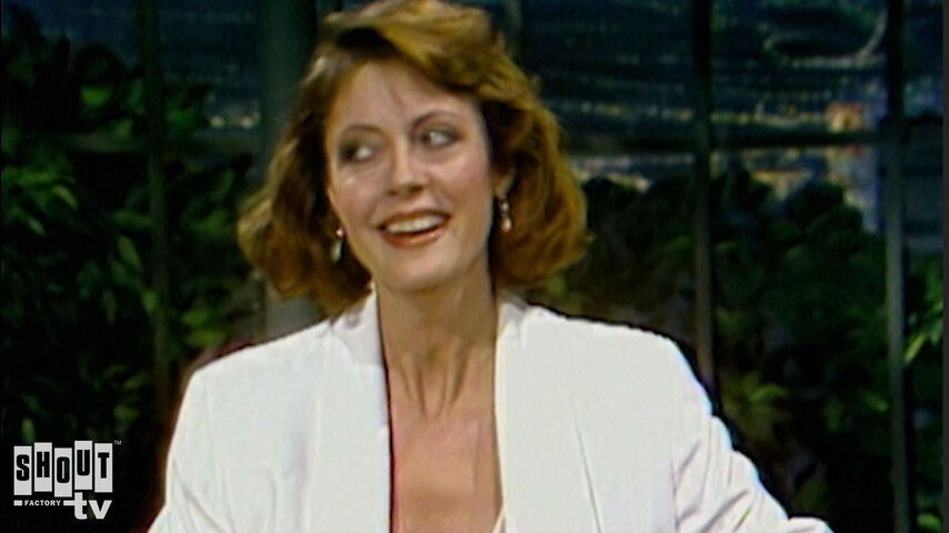 The Johnny Carson Show: Hollywood Icons Of The '80s - Susan Sarandon (1/13/84)