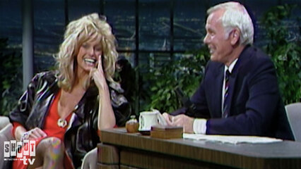The Johnny Carson Show: Hollywood Icons Of The '80s - Farrah Fawcett (9/27/84)