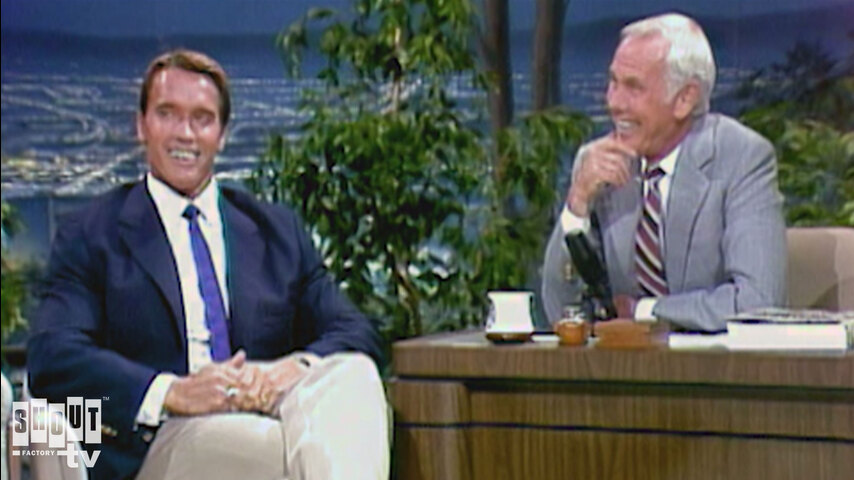The Johnny Carson Show: Hollywood Icons Of The '80s - Arnold Schwartzenegger (8/22/85)