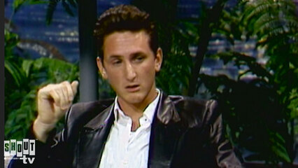 The Johnny Carson Show: Hollywood Icons Of The '80s - Sean Penn (10/9/86)