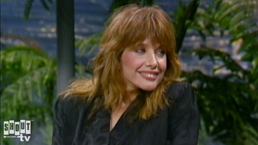 The Johnny Carson Show: Hollywood Icons Of The '80s - Rosanna Arquette (11/7/86)