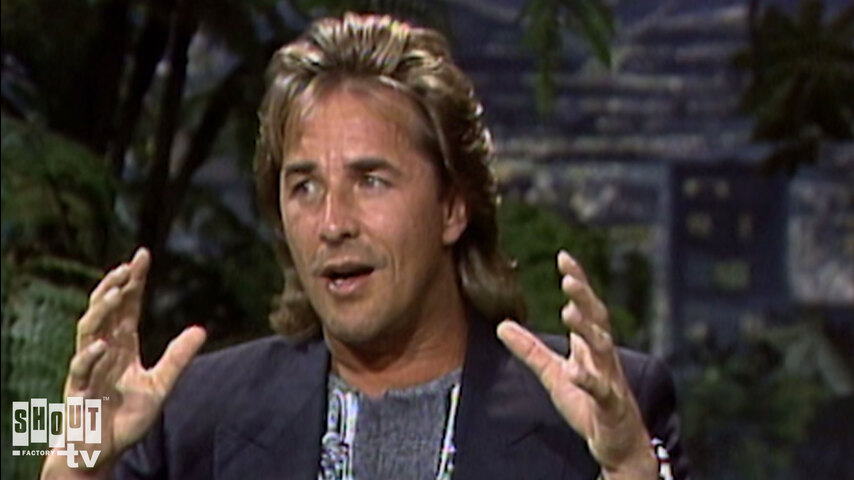 The Johnny Carson Show: Hollywood Icons Of The '80s - Don Johnson (9/25/87)