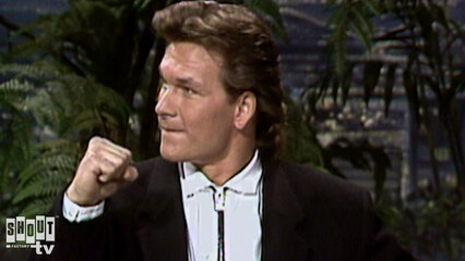 The Johnny Carson Show: Hollywood Icons Of The '80s - Patrick Swayze (10/13/87)