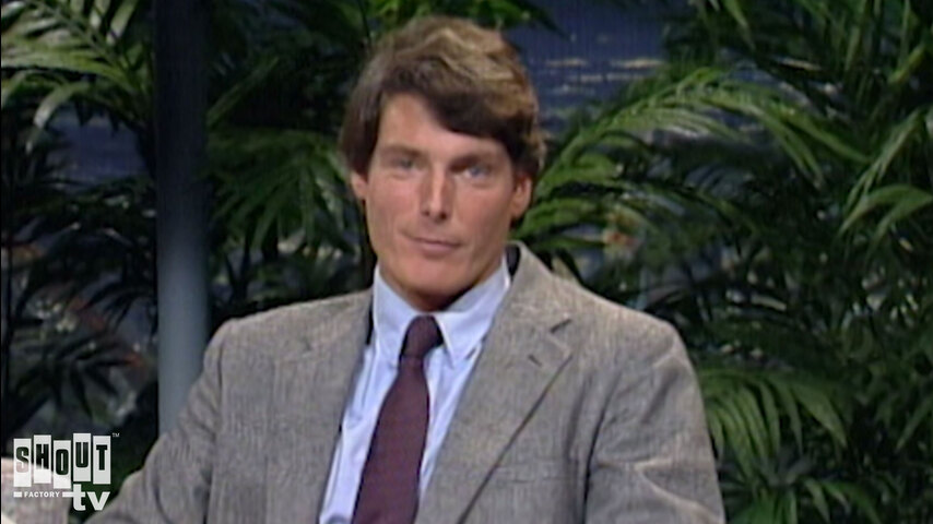 The Johnny Carson Show: Hollywood Icons Of The '80s - Christopher Reeve (11/2/88)