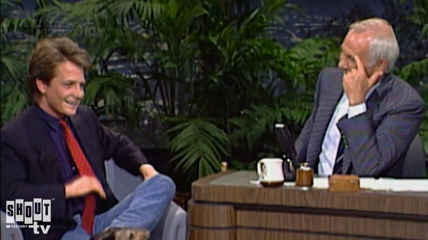 The Johnny Carson Show: Hollywood Icons Of The '80s - Michael J. Fox (11/3/88)