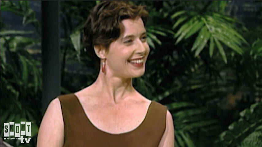 The Johnny Carson Show: Hollywood Icons Of The '80s - Isabella Roselini (2/1/89)