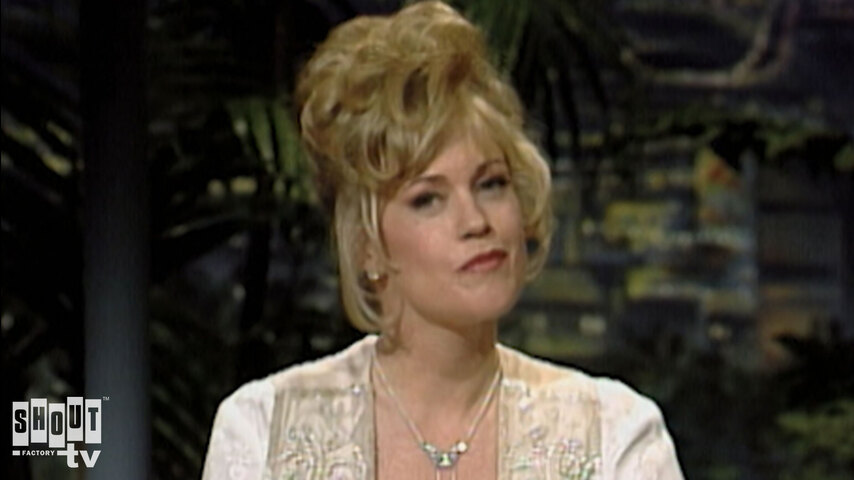 The Johnny Carson Show: Hollywood Icons Of The '80s - Melanie Griffith (1/29/92)
