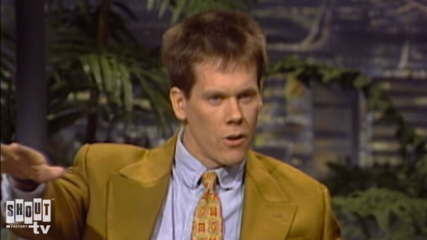 The Johnny Carson Show: Hollywood Icons Of The '80s - Kevin Bacon (1/31/92)