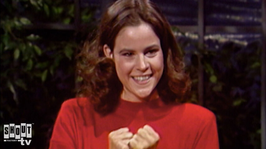 The Johnny Carson Show: Hollywood Icons Of The '90s - Ally Sheedy (6/9/83)