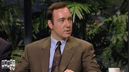The Johnny Carson Show: Hollywood Icons Of The '90s - Kevin Spacey (4/27/90)
