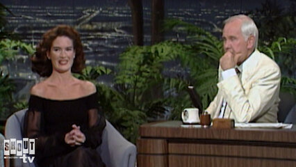 The Johnny Carson Show: Hollywood Icons Of The '90s - Lara Flynn Boyle (5/9/90)