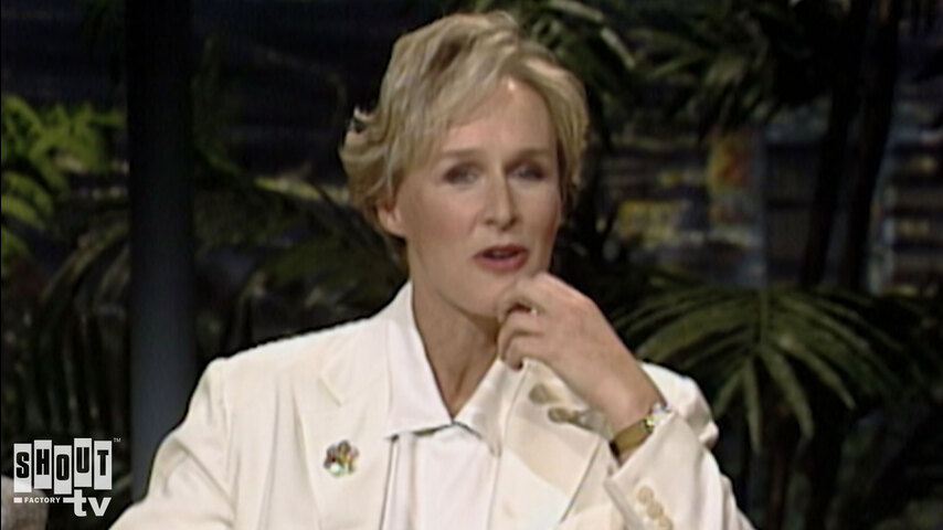 The Johnny Carson Show: Hollywood Icons Of The '90s - Glenn Close (11/13/91)