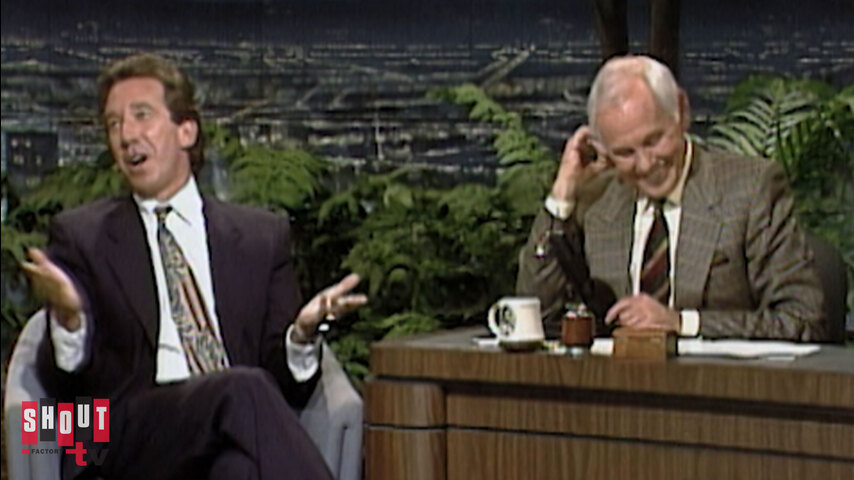 The Johnny Carson Show: Hollywood Icons Of The '90s - Tim Allen (1/29/92)