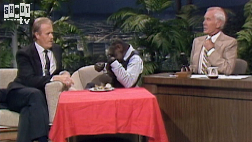 The Johnny Carson Show: Animal Antics With Zippy The Chimp (5/9/86)