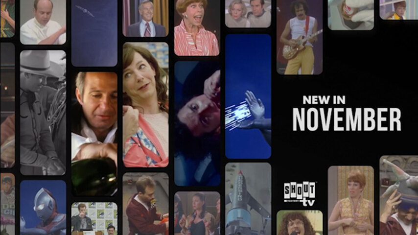 See What's Streaming in November on Shout! Factory TV