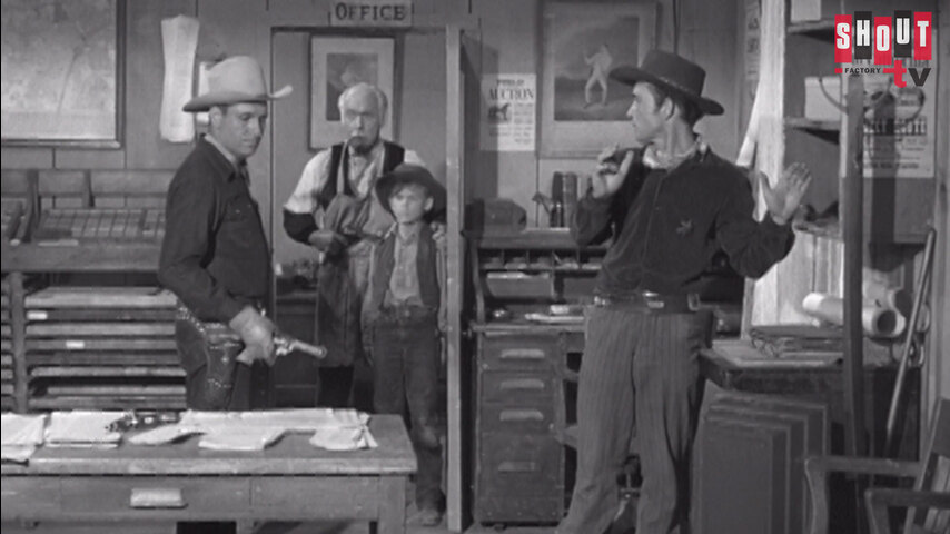 The Gene Autry Show: S2 E17 - The Lawless Press