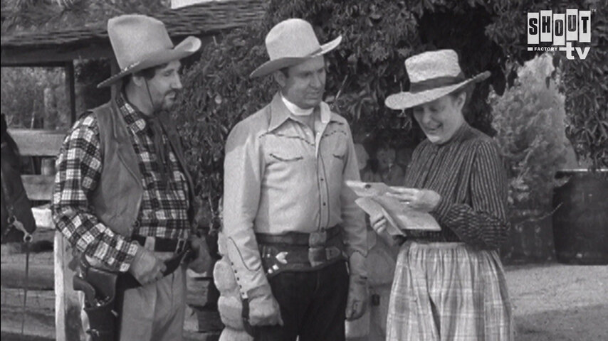 The Gene Autry Show: S2 E18 - The Western Way